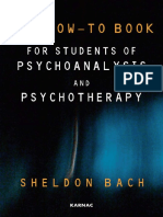 Psychoanalysis And Psychotherapy by  Bach