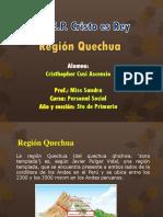 Diapositivas Region Quechua