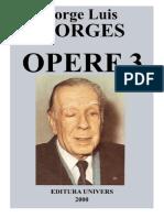 Borges, Jorge Luis - Opere Vol. 03