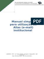 Tutorial Alias - Alunos (2)