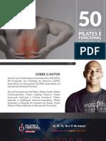 50 Exercícios de Pilates e Funcional Na Prevenção Lombar