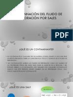 Contaminación Del Fluido de Perforación Por Sales