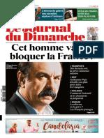 Le Journal Du Dimanche Du 1 Avril 2018