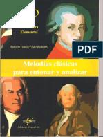 Melodias Clasicas Para Entonar y Para Analizar 1