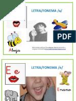 Tarjetas Lecto Foneticas Silabas y Lenguaje Signos