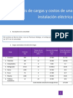 Práctica Análisis de Cargas y Costos de Una Instalación Eléctrica.