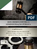 1) Dos Crimes Contra a Administração Pública (1)
