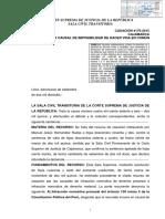 Casación 4176 2015 Cajamarca Divorcio Por Causal de Imposibilidad de Hacer Vida en Común No Puede Ser Fundado en Hecho Propio