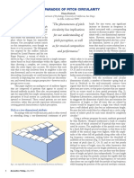 The Paradox of Pitch Circularity-Diana Deutsch-Escher-Shepard Tone