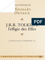 (La Feuille de La Compagnie, 3.) J. R. R. Tolkien-L'Effigie Des Elfes (Fragments on Elvish Reincarnation) (2014)