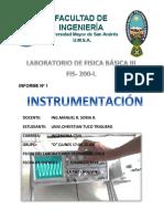 Informe Nº 1 Instrumentacion - Copia
