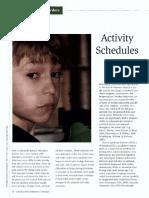 activity schedules gened wk11