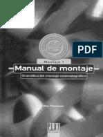 Manual de Montaje Cinematografico