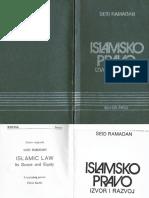 Islamsko pravo izvor i razvoj