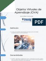 Los Objetos Virtuales de Aprendizaje (OVA)