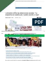 Campaña Contra Las Detenciones Raciales_ _La Sospecha Es Nuestra Piel, Nuestro Acento o Ropa_ _ España Home _ EL MUNDO