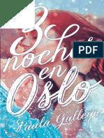 3 Noches en Oslo- Paula Gallego