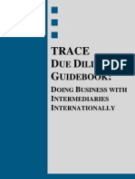 The Trace Due Diligence Guidebook