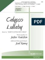 Calypso Lullaby - SAB