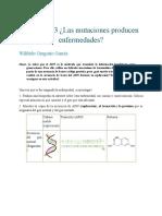 Actividad 3 Las Mutaciones Producen Enfermedades