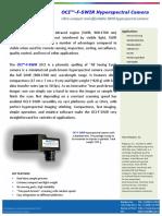 BaySpec Datasheet OCI F SWIR Hyperspectral Camera