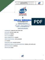 Gabarito Folha Dirigida Extra Oficial