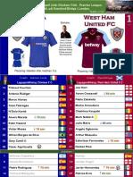 Premier League 180408 round 33 Chelsea - West Ham 1-1