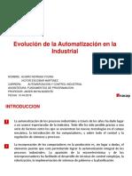 Evolucion de La Automatizacion en La Industria - Copia