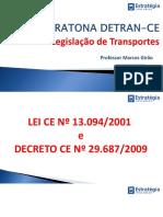 Legislação de Transportes do Ceará MARATONA