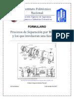 Formulario  Procesos de Separación por Membrana +Oct 2017 Vfinal