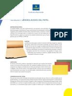 Tecnicas y Generalidades Del Papel