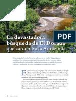 La Devastadora Búsqueda Del Dorado Que Carcome La Amazonia