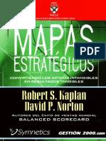 Kaplan y Norton. Mapas Estrategicos
