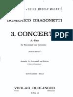 Dragonetti - 3. Concerto