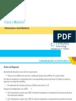 Física General 1.5 Estimaciones e Incertidumbres