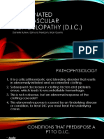 disseminated intravascular coagulopathy  dic   1   1