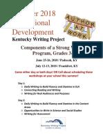 frankfort summer 2018  strong writing program upper elem revised