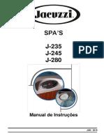 Manual de Instrucoes Spas j235 j 245 e j 280 Jan 2016 Incl. j235 1