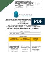 10. Soldadura Cerco P. 24.05.17