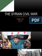 the syria civil war