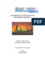 Tapias Matematicas Aplicadas en Ingenieria Quimica Palacio
