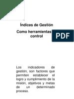 Indices de Gesti n