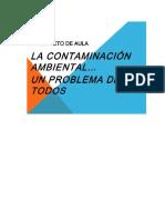 Crucigrama Ambiental SEPTIMO