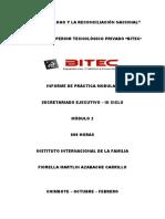 Practicas Intermedias - Módulo 2 - Secretariado Ejecutivo