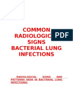 Bacterial Lung Infections - Rad Signs