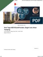 Soal Tagar #2019GantiPresiden, Begini kata Akbar Tandjung.pdf