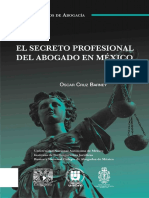 Secreto Profesional de La Abogacia en México