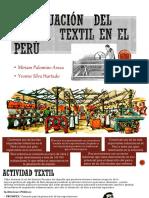La Situación Del Sector Textil en El Perú