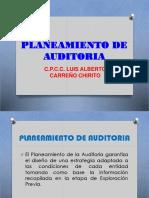 Planeamiento de Auditoria