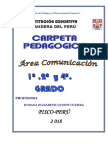 Carpeta Pedagogica 2018 Bandera Del Perú